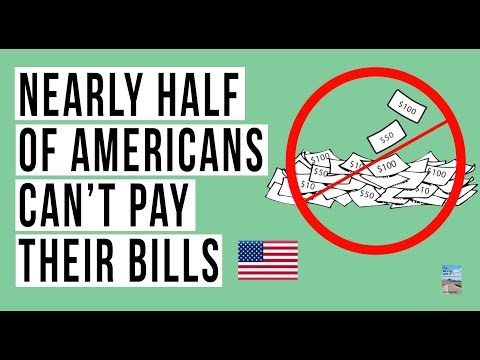 Nearly HALF of Americans Can't Pay Their Bills! U.S. Economic Crisis Rapidly Unfolding!