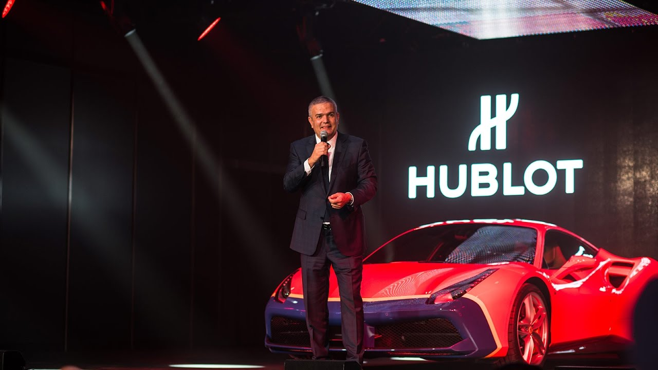 HUBLOT + FERRARI EVENT IN BASELWORLD 2017