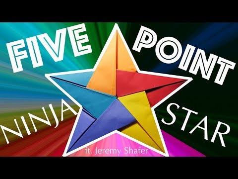 How to Make a 5-Point Ninja Star (ft. Jeremy Shafer)