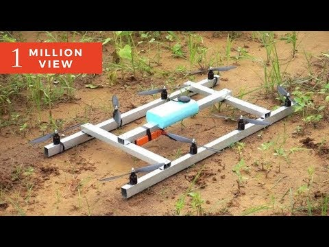 UNIQUE Octocopter Drone | inspired from Intel falcon | Indian LifeHacker