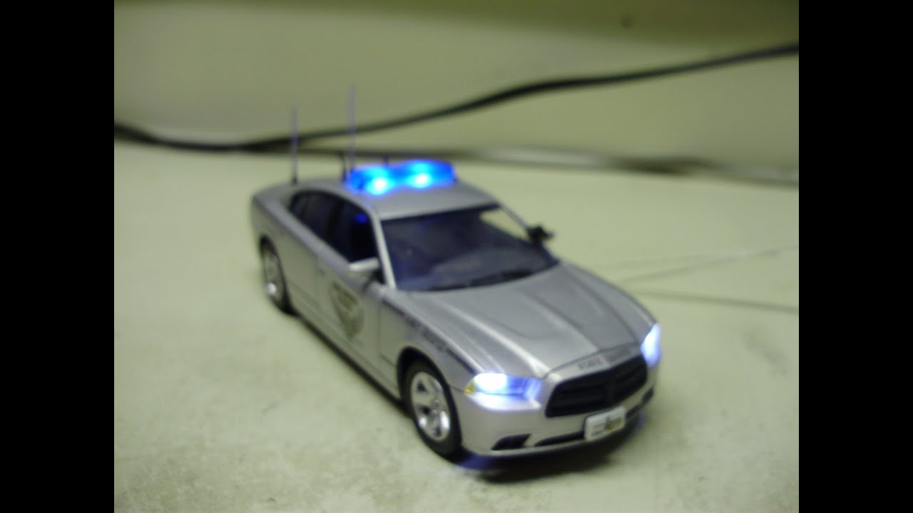 Custom 1:43 scale OHIO STATE PATROL Dodge Charger police diecast w ...