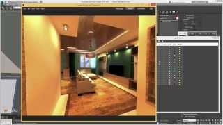Моделирование интерьера в 3ds max