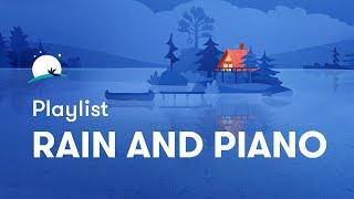 Soft Piano & Rain Sounds - Relaxing piano, Sleep Music, Background Music | Relax Melodies screenshot 1