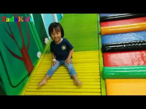 Lagu Anak Kukuruyuk | Zada Brmain Di Arena Bermain Anak