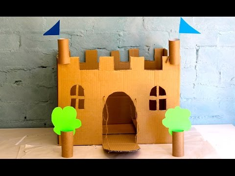 How To Make Your Own Cardboard Play Castle