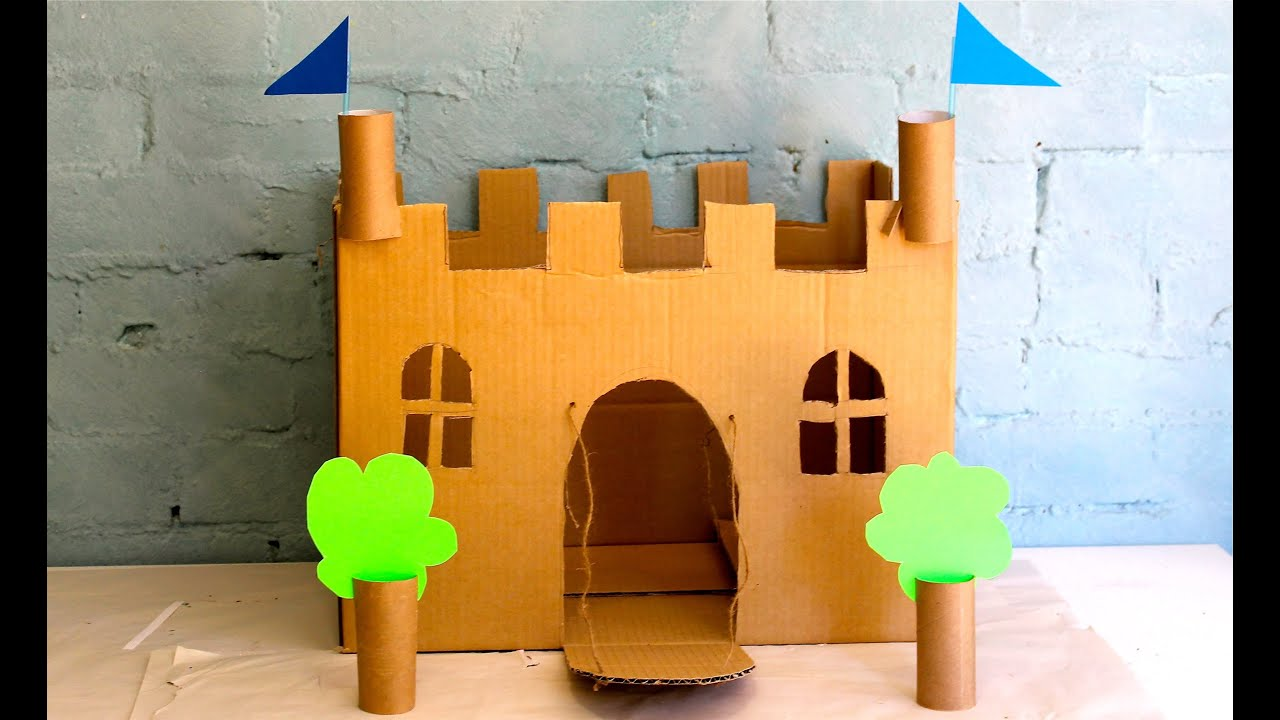Image result for cardboard castle project simple