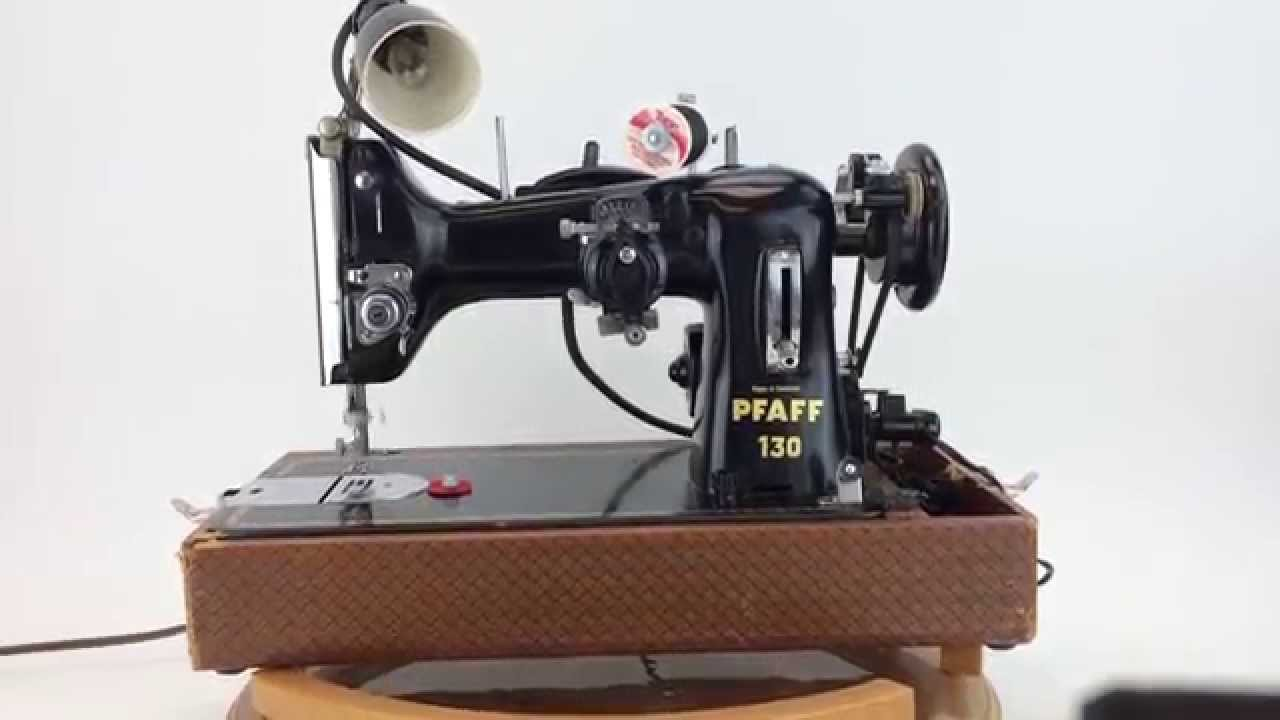 Vintage Pfaff 130 Sewing Machine & Case - for sale on eBay ...