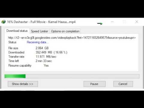 Idm 100mbps Speed Maximum Youtube