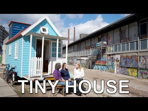 Tiny House B&B | Unique design for work / living (inside tour)
