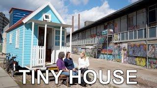 Tiny House B&b   Unique Design For Work / Living Inside Tour