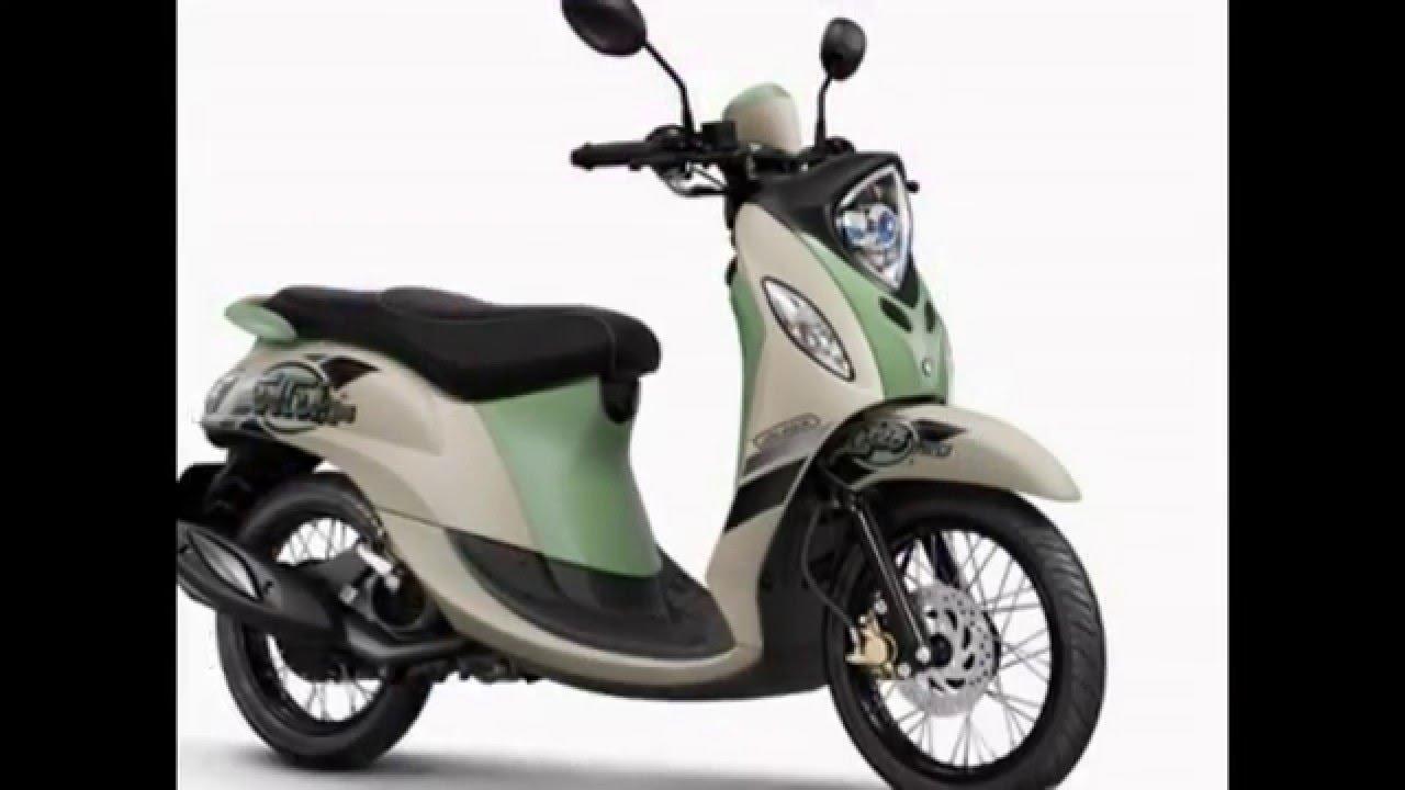 video motor yamaha new fino 125 blue core premium elegant dan