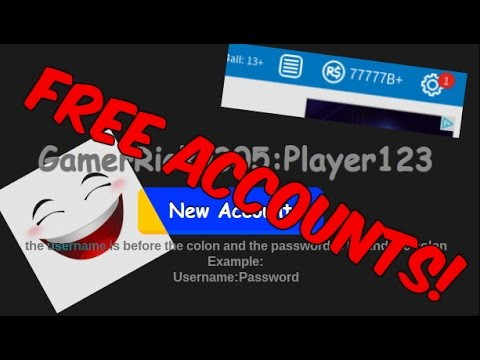 Roblox How To Get Free Robux Account Gen Working March Youtube