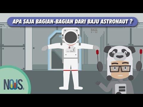 Perlengkapan Baju Astronout Ketika di Ruang Angkasa Seperti apa sih?