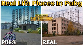 Real Life Places In Pubg | Pubg Map In Real Life (Erangel Map)