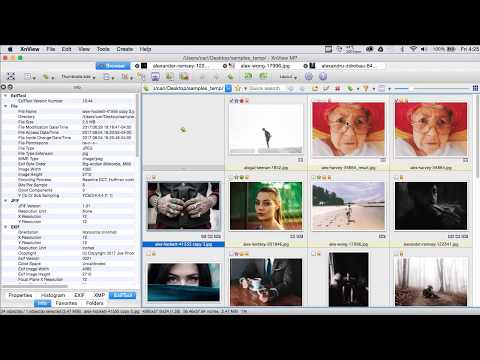 XnView Metadata How To - Part2