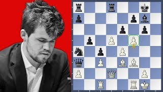 Carlsen's Grünfeld Grand Prix Attack - Carlsen vs Grischuk | Norway Chess 2019