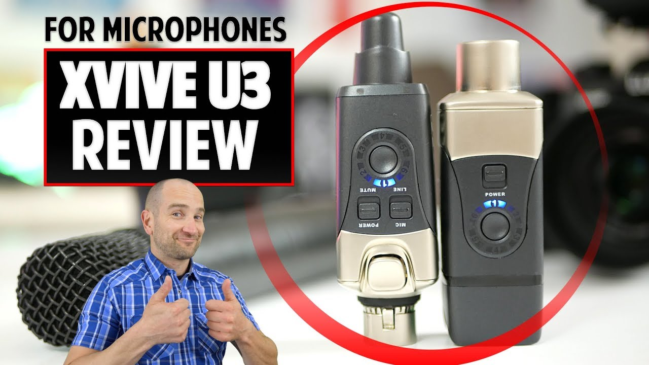 xvive u3 wireless microphone system review after 2 months of use youtube. Black Bedroom Furniture Sets. Home Design Ideas