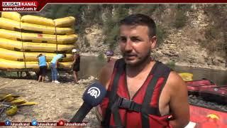 Raftinge Arap turist ilgisi