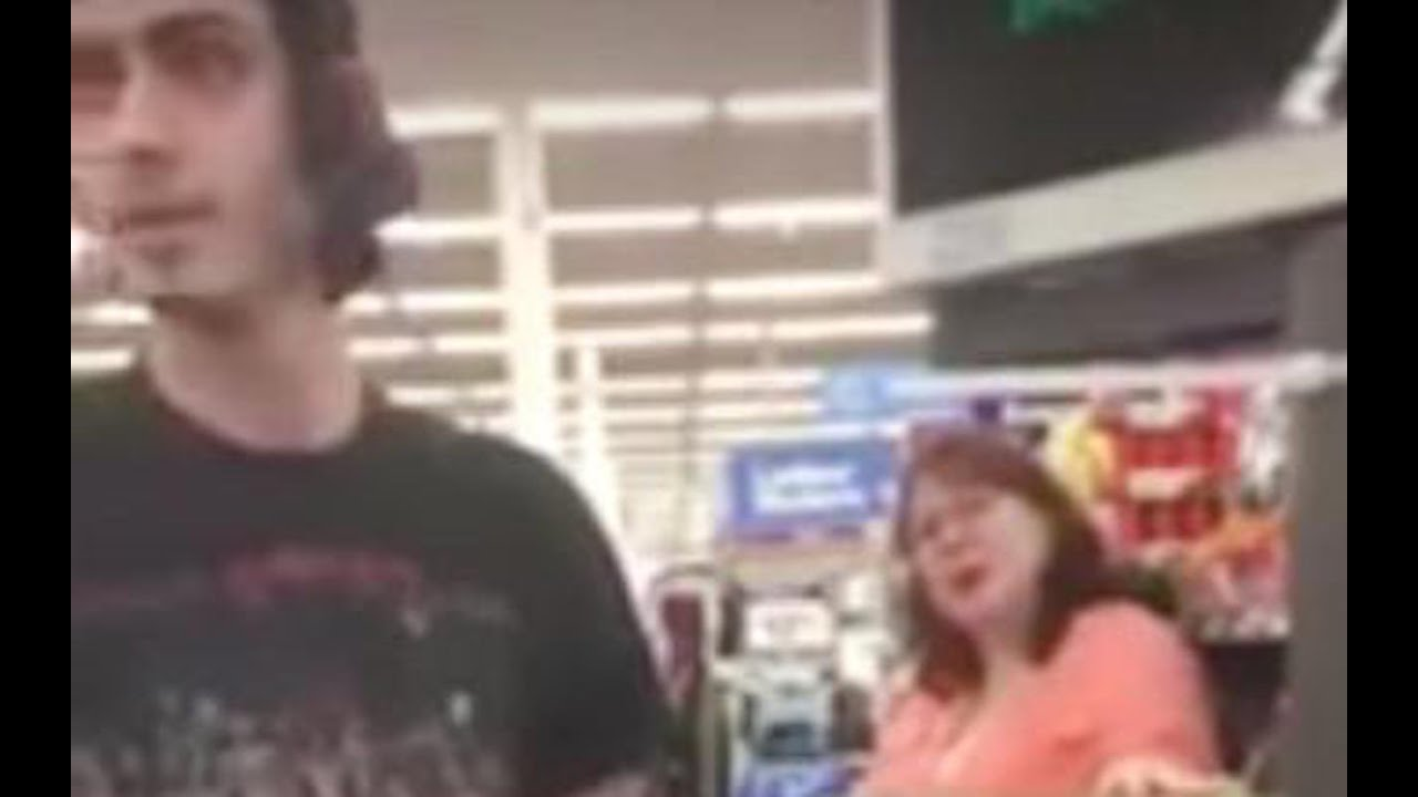 Woman Berates Dad & His Family Using Food Stamps At Walmart