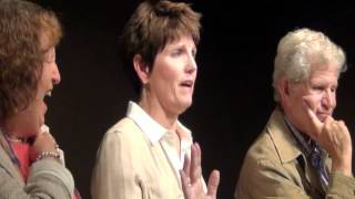Lucie Arnaz Pretending to Be Jimmy Nederlander