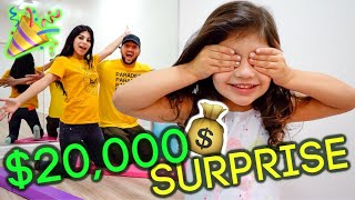REVEALING OUR NEW $20,000 ROOM!!! *GRAND REVEAL*