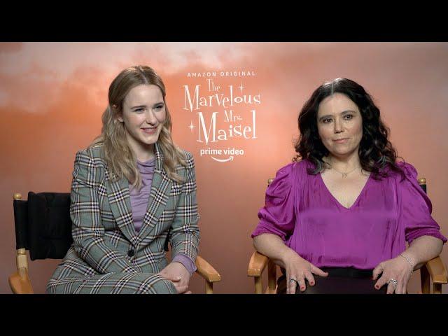 The Marvelous Mrs. Maisel Season 3\: Rachel Brosnahan and Alex Borstein   Full Interview