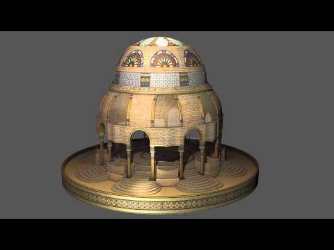 Gothic - Arabic Architecture Experiment