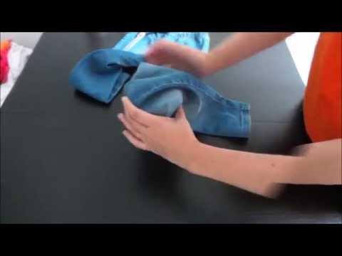 Tutorial come realizzare contenitori con riciclo di bottiglie di plastica e jeans youtube - Fermatovaglia per tavoli di plastica ...