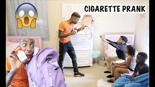 Download FOUND CIGARETTES IN LIL SISTER BACKPACK PRANK!! Mp3 and Videos