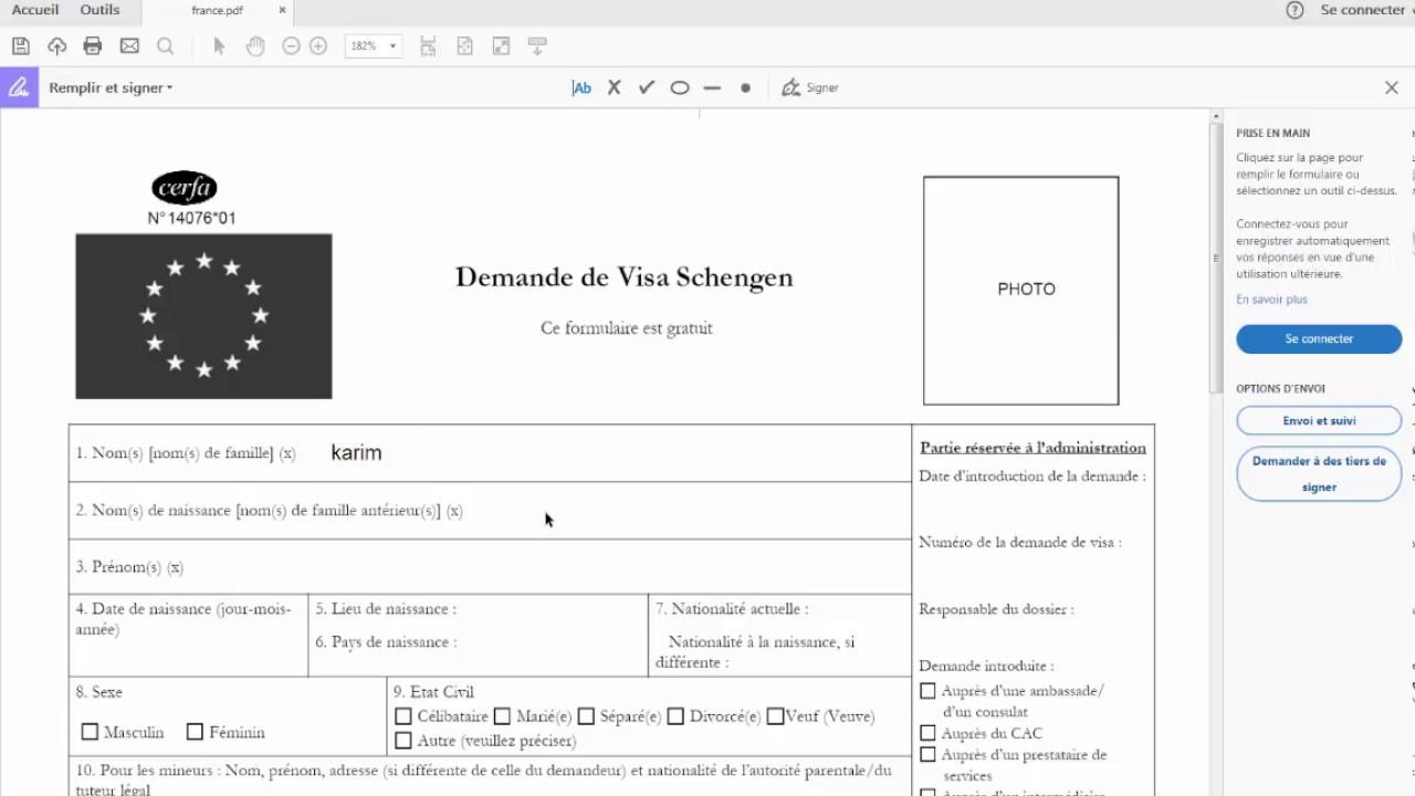 comment remplir un formulaire au format pdf sur ordinateur