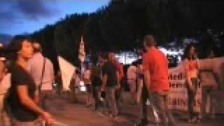Fiscietti di protesta a Cerano