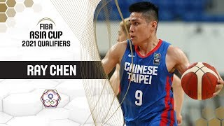 Ray Chen (Chinese Taipei) - Best of | FIBA Asia Cup 2021 Qualifiers