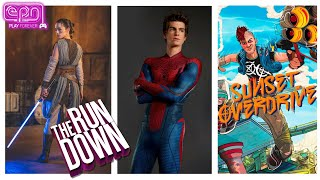 Lightsabers Exist, Garfield Spidey \u0026 Sunset Overdrive Lives? - The Rundown - Electric Playground