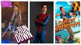 Lightsabers Exist, Garfield Spidey \u0026 Sunset Overdrive Lives? - The Rundown - Electric Playground