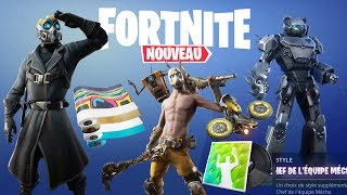 FORTNITE: All the next Skins, Dances, Gliders... (MAJ 10.20)