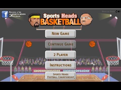 Мини игра Баскетбол головами
