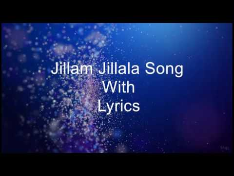 Honey Bee 2 | JillamJillala Song With Lyrics