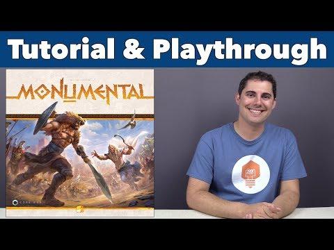 Monumental Tutorial & Playthrough - JonGetsGames