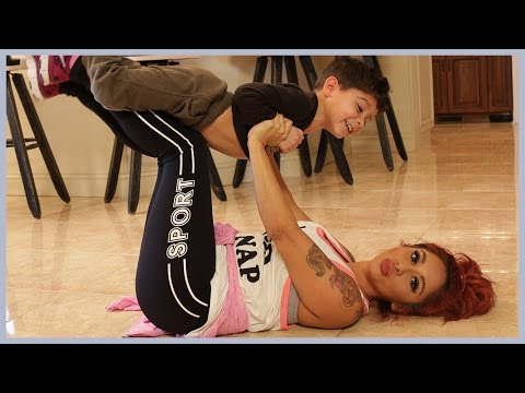 Snooki Works Out with Her Son Lorenzo!