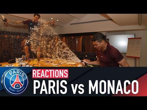 PARIS 7-1 MONACO : JOIE ET REACTIONS