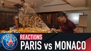 PARIS 7-1 MONACO : JOIE ET REACTIONS
