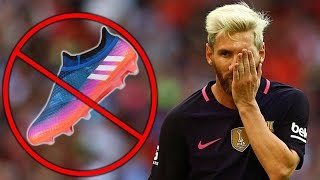 Messi Hates His Own Signature Boots?