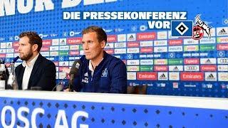 RELIVE: Die Pressekonferenz vor dem Heimspiel gegen den 1. FC Köln