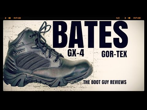 BATES GX-4 BOOT WITH GORE-TEX ( E02266 ) [ The Boot Guy Reviews ]