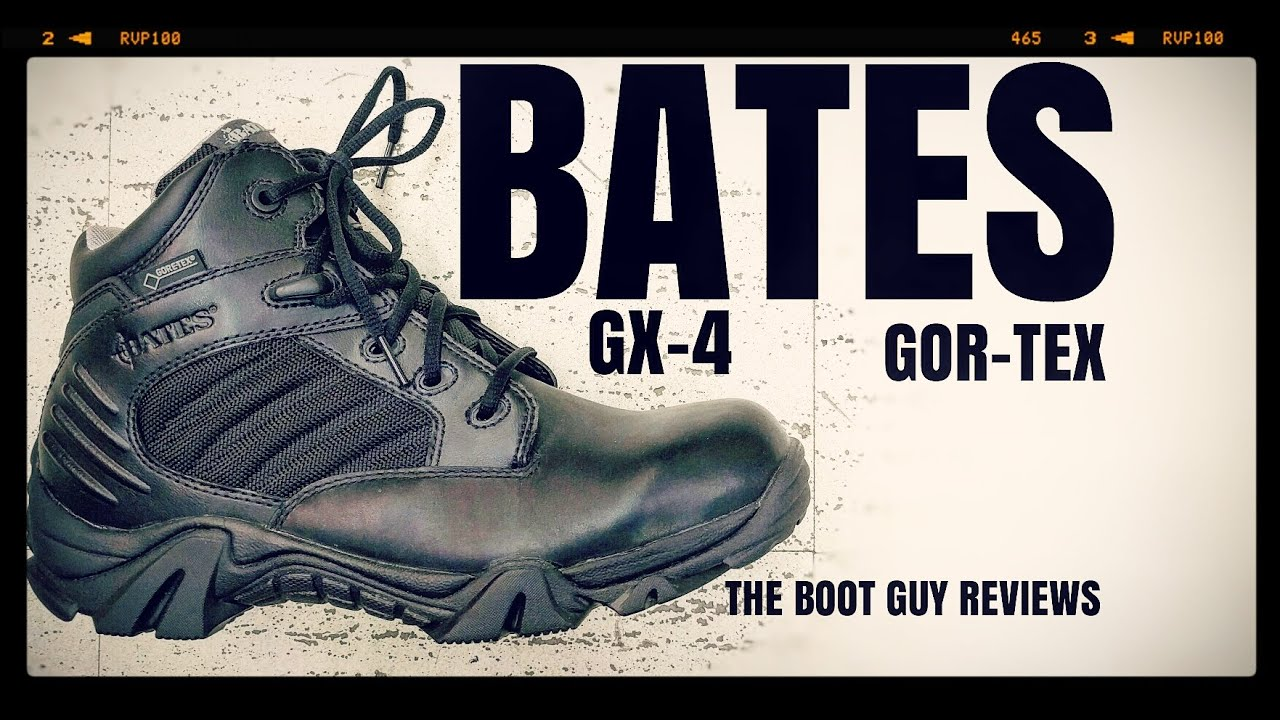 dc0c14c75e7 BATES GX-4 BOOT WITH GORE-TEX ( E02266 ) [ The Boot Guy Reviews ]
