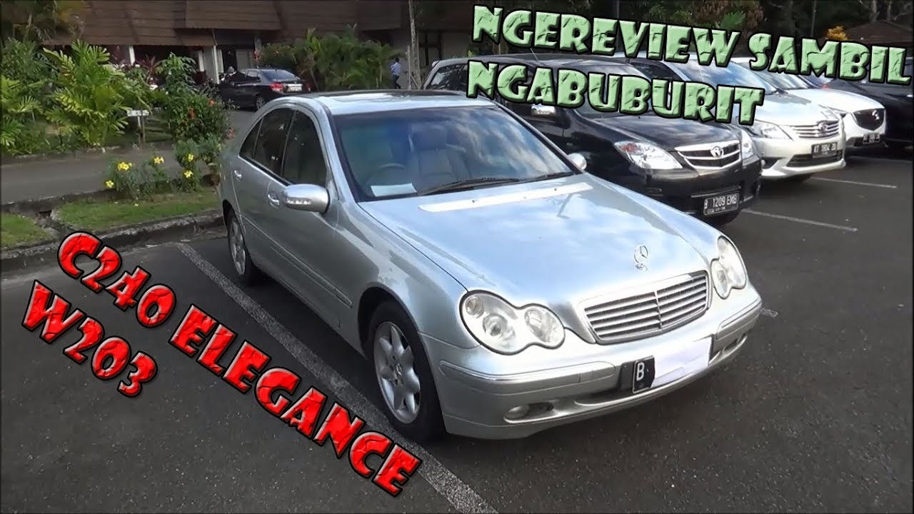 Review mercedes benz c240 elegance w203 tahun 2003 youtube for How much is a mercedes benz oil change