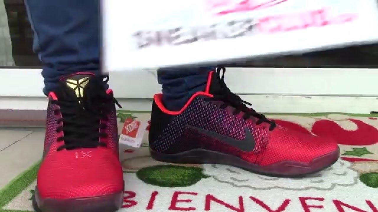 huge selection of d16aa 63709 worth   58 Replica Kobe 11 Elite low Achilles Heel ON FOOT - YouTube