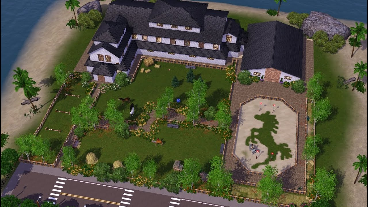 lets speed build legacy stables sims 3 youtube