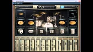 Addictive Drums FUNK ADPak demo (played by Saša Petković)
