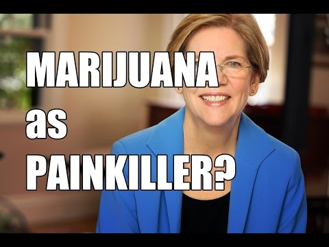 Elizabeth Warren The US Senator Favor Marijuana Legalization